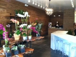 Beautiful high end floral boutique