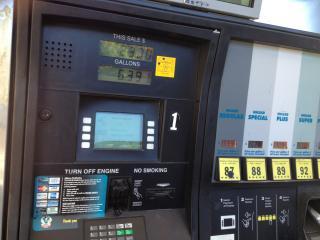 Branded Gasoline Service Station