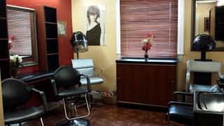 HAIR AND NAIL SALON WITH SMALL BOUTIQUE