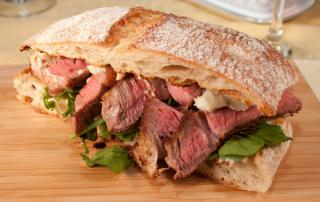 GREAT STEAK SANDWICH...