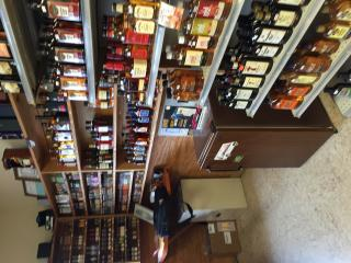 Spacious Wine shoppe