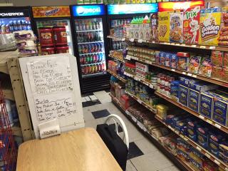 Convenience Store, Deli, Beer AND laundromat