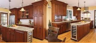Granite Fab. Kitchen Cabinets w/ Prop.  * PR. RED*