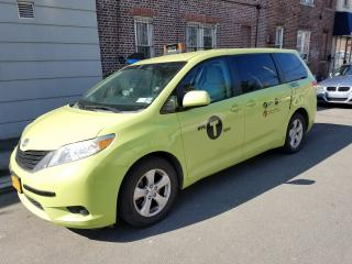 Five-Vehicle Green Taxi Fleet in Queens County NY