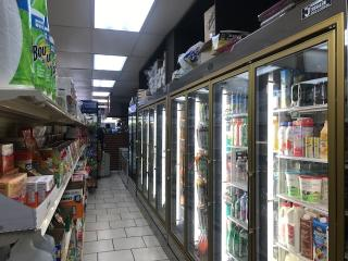 Busy Deli and Grocery in Queens County, NY