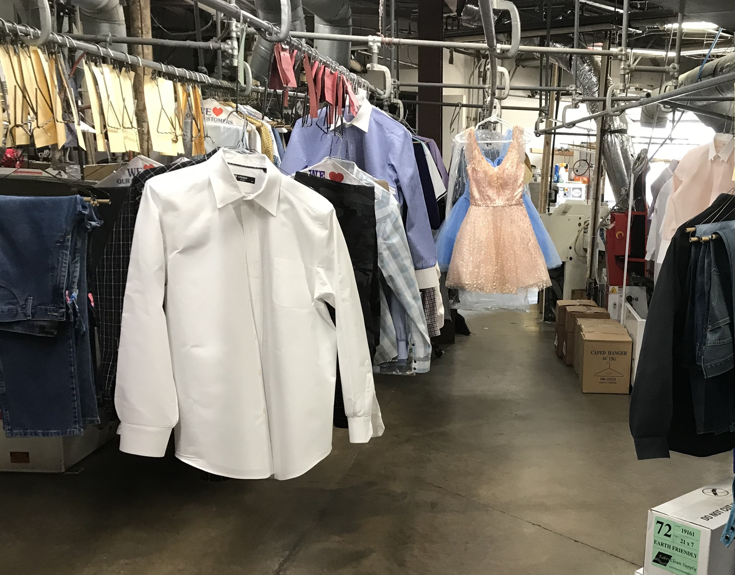 Landmark Dry Cleaners for sale in Dallas Co.