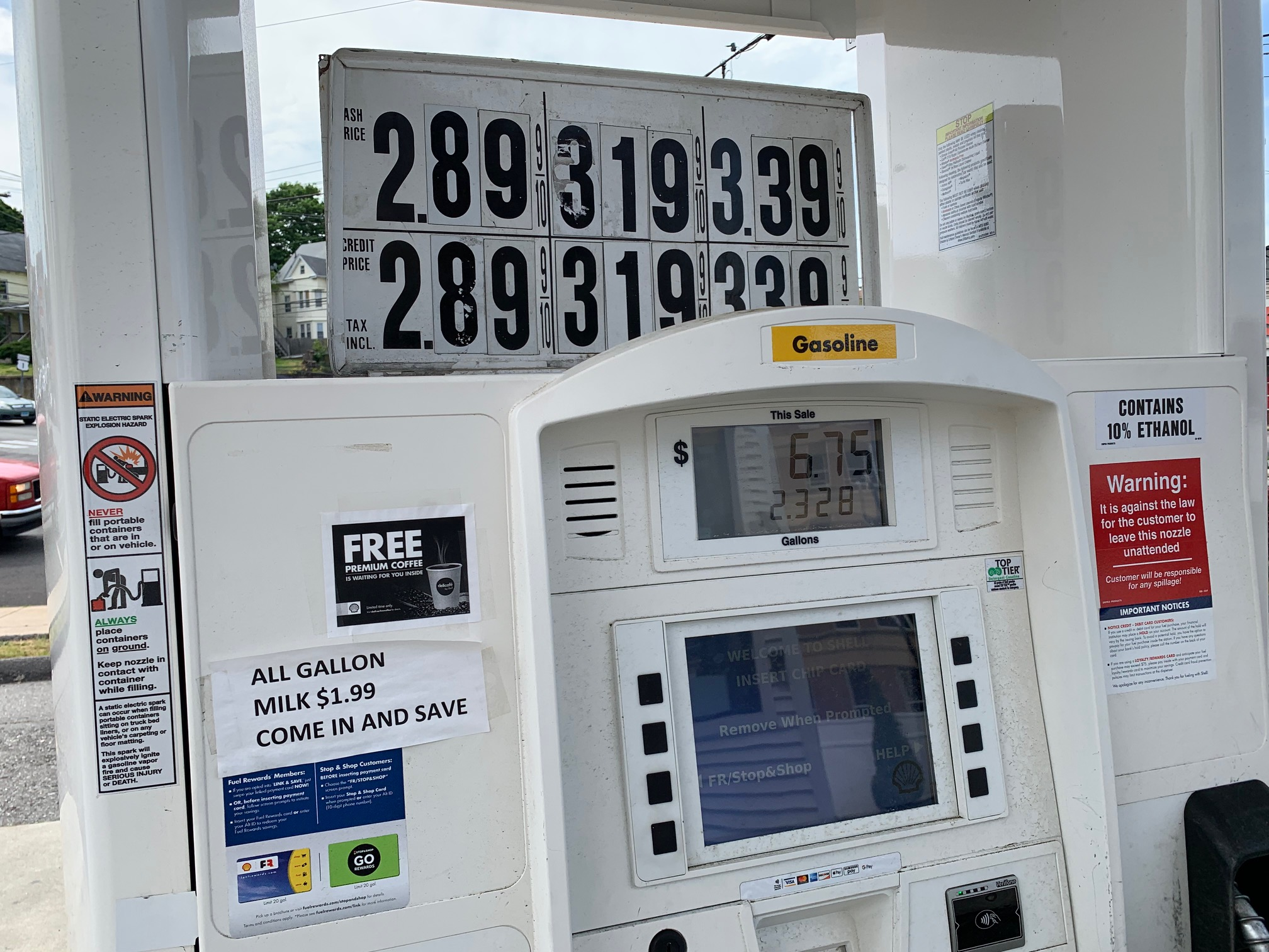 Busy Gas Station Assets Sale - CT
