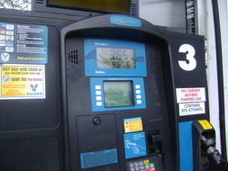 Gasoline Service Station